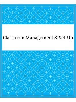 EDITABLE Teaching Portfolio Template (Lime & Aqua)