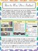 EDITABLE Teaching Portfolio Template (colorful chevron)