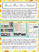 EDITABLE Teaching Portfolio Template (golden chevron)