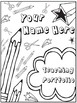 EDITABLE Teaching Portfolio (doodles)
