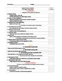EDITABLE -Teaching Strategies GOLD Checklist - Orange Band