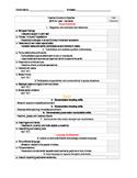 EDITABLE -Teaching Strategies GOLD Checklist - Red Band (b