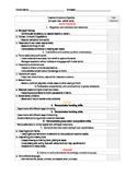 EDITABLE -Teaching Strategies GOLD Checklist - Yellow Band