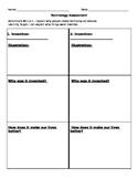 EDITABLE Purpose of Technology or Inventions Assessment Template