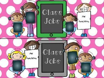 EDITABLE Technology Theme Class Job