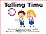 EDITABLE Telling Time PowerPoint Presentation