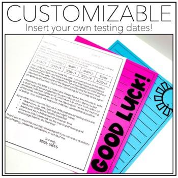 EDITABLE Testing Parent Letter