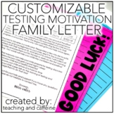 EDITABLE Testing Parent Letter