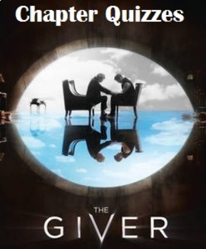 EDITABLE The Giver Chapter Quizzes with Answers
