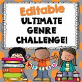 EDITABLE Ulitmate Genre Challenge