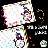 EDITABLE Unicorn Spin and Graph {FREEBIE!}