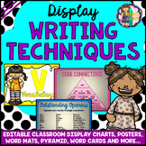 EDITABLE VCOP Class Display Posters Charts Pyramids Word M
