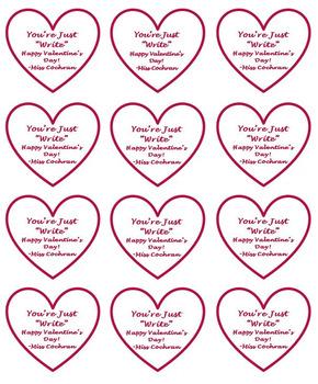 EDITABLE Valentine's