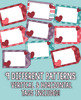 EDITABLE Valentine's Day Gift Tags: 36 Different Designs & 324 Total Tags!