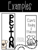 EDITABLE Vertical Dog Themed Labels