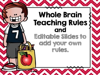 EDITABLE - WBT Rules and Editable slides to add your own r
