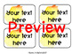 EDITABLE Watercolor Classroom Library Labels