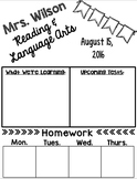 EDITABLE Weekly Parent Newsletter