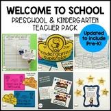 EDITABLE Welcome to School Pack - Preschool, Pre-K, Kindergarten