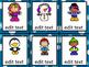 EDITABLE Winter Kids Task Cards