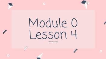 EDITABLE Wit and Wisdom Grade 6-8 Module 0 Lesson 4