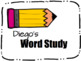 EDITABLE Word Study Notebook Cover