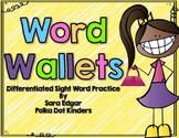 EDITABLE Word Wallet