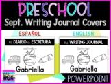 EDITABLE   Writing Journal Covers ➠ English & Spanish