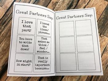 [EDITABLE] Writing Partner Handbook