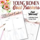 EDITABLE YW Goal Tracking (Individual and Group) - Instant