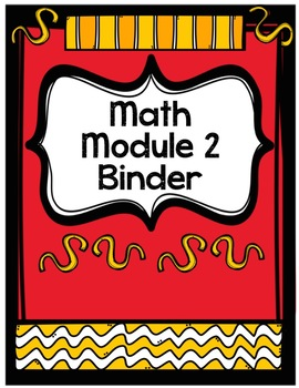 EDITABLE Zearn / Eureka Math / Engage NY Module or Mission Teacher Binder Covers