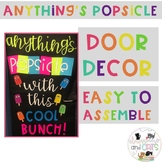 EDITABLE back to school bulletin board or door decor