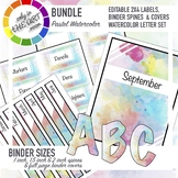 Binder Labels, labels and Bulletin Board Letters