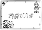 EDITABLE ~ first name TRACE sheets for K PP Prep BEGINNERS QLD font 10 designs
