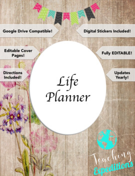 Life planner GOOGLE DRIVE COMPATIBLE