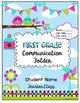 EDITABLE Communication Folder Cover {FREEBIE}
