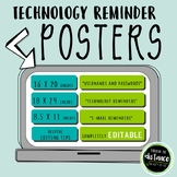EDITABLE Technology Posters