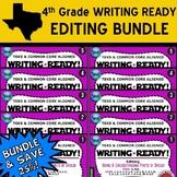 EDITING BUNDLE ~ WRITING READY 4th Grade Task Cards – 10 Basic & Advanced Sets