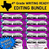 EDITING BUNDLE ~ WRITING READY 4th Grade Task Cards – 10 B