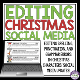 CHRISTMAS GRAMMAR ACTIVITY