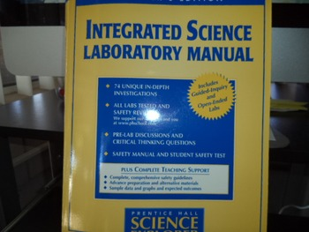 EDITION INTEGRATED SCIENCE ISBN 0 13 436370 1
