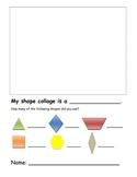 Pattern Blocks Collage