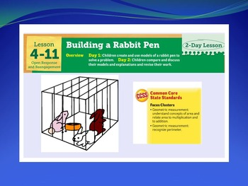 EDM 4 (Everyday Math 4) Grade 3 Unit 4 BUNDLE Smart Notebook Presentations