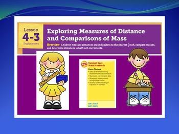EDM 4 (Everyday Math 4) Grade 3 Unit 4 BUNDLE Smart Notebo
