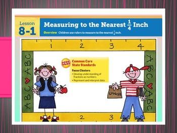 EDM 4 (Everyday Math 4) Grade 3 Unit 8 BUNDLE Smart Notebook Presentations