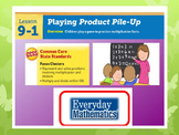 EDM 4 (Everyday Math 4) Grade 3 Unit 9 BUNDLE Smart Notebo