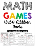 EDM 4 Unit 6 Math Games - 1st Grade