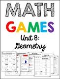 EDM 4 Unit 8 Math Games - 1st Grade