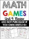 EDM 4 Unit 9 Math Games - 1st Grade