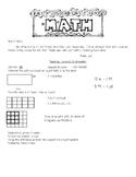 EDM Grade 3 Unit 3 Review Measurement